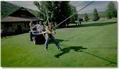 Catapulte humaine avec un quad !