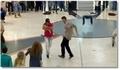 Un flash mob dans un aéroport à Dubaï