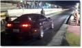 Impressionnant départ arrêté en Toyota Supra