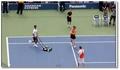 La danse de la tondeuse par Djokovic