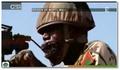 Entrainement original de l'armée Malienne