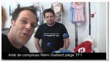 Rémi Gaillard piège TF1 et Confessions Intimes