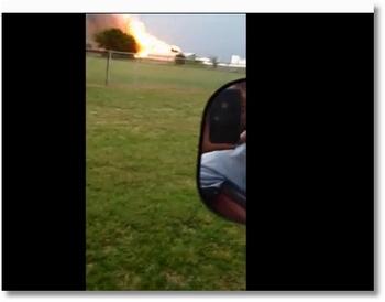 Vidéo impressionnante de l'explosion au Texas