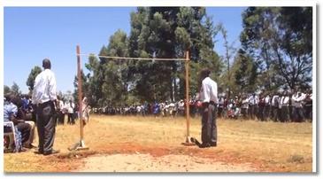 Le saut en hauteur au Kenya