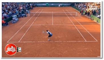 Un commentateur de tennis pète un cable