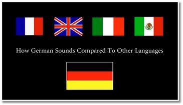 Les mots allemands Vs ceux d'autres pays