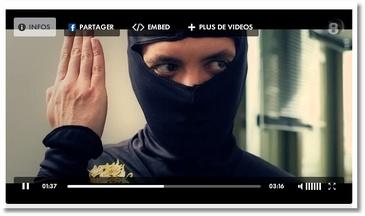 Quand il est le ninja (Palmashow)