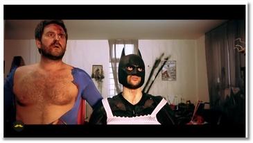 Les super héros par Suricate