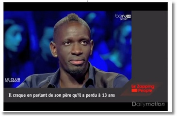 Les larmes de Mamadou Sakho