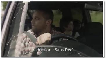 Pub choc pour la sécurité routière
