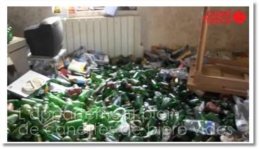 Un appart rempli de bières en Bretagne