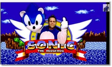 Rémi Gaillard en Sonic