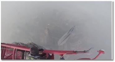 Ils grimpent à une tour de 650 mètres