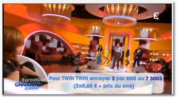 Twin Twin représentera la France à l'Eurovision