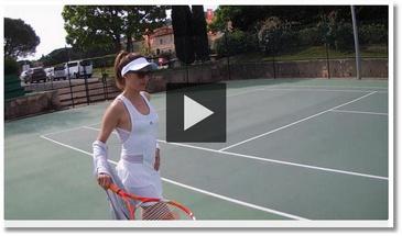 La connasse : le tennis