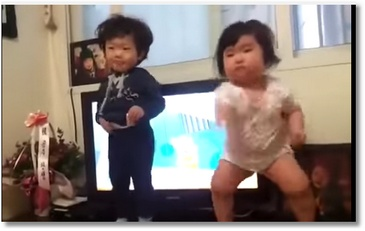 La danse de ce bébé fait le buzz