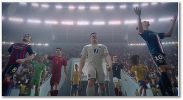 Nouvelle pub Nike Football