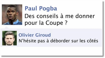 La coupe du Monde sur Facebook par Gonzague