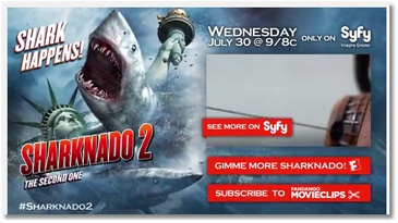 Sharknado 2 : la bande annonce