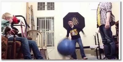 Les fails avec les ballons de gym