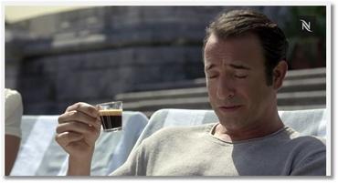 Pub Nespresso avec Jean Dujardin