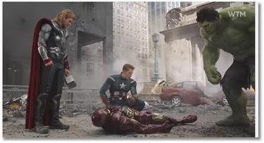 Avengers VS Le Père Noël est une ordure