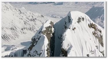 Incroyable descente en ski