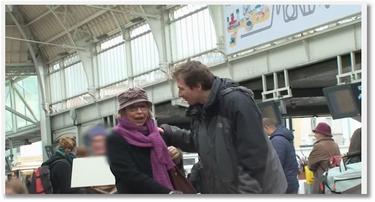 Gonzague : défis en gare SNCF