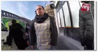 10 heures de marche à Paris avec une kippah