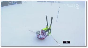Le gros raté de Julien Lizeroux en ski