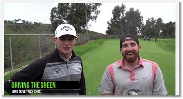De superbes tricks au golf